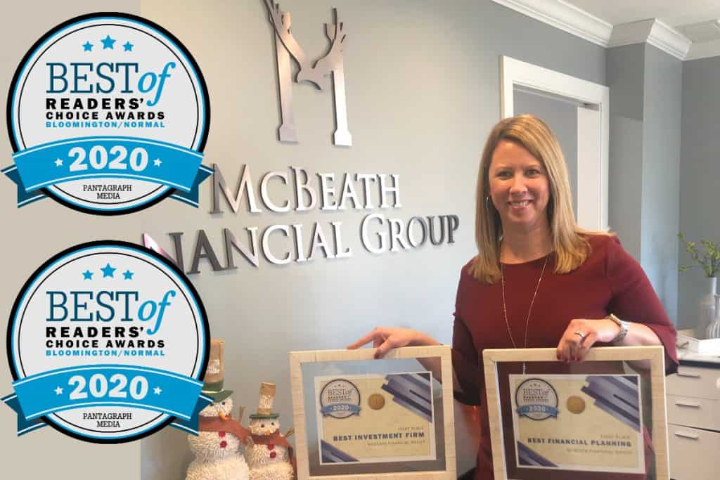 Bloomington Normal Area Best Financial Planner Best Investment Advisor 2020